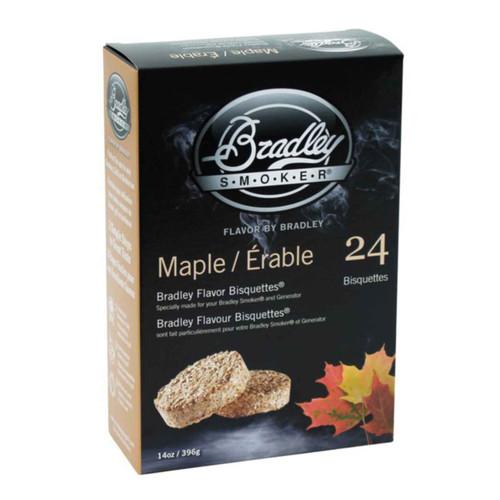 Bradley Smoker Bisquettes Maple Flavor 24Pk