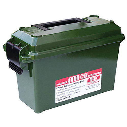 MTM AC30T-11 30 CAL. AMMO CAN-TALL- FOREST GREEN