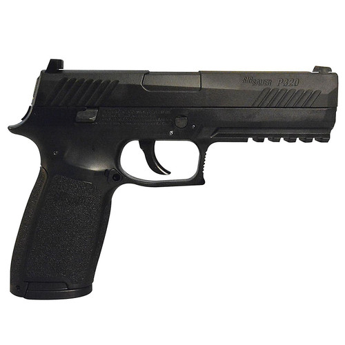 SIG Sauer P320-177-30R-BLK P320 CO2 Black Pistol, Metal Slide