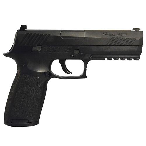 SIG Sauer P320-177-30R-BLK P320 CO2 Black Pistol, Metal Slide