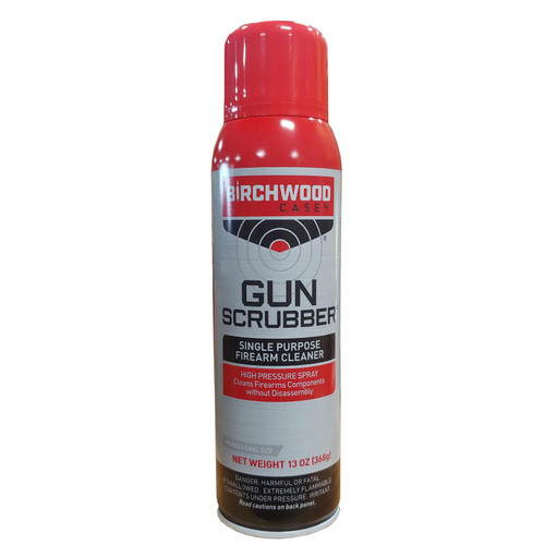 Birchwood Casey Gun Scrubber Firearm Cleaner Aerosol 13oz, 33344