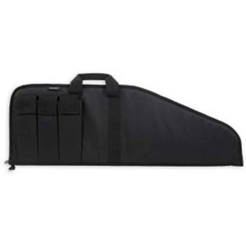 Bulldog Pit Bull Scoped Rifle Case Black 38-Inch, BD499-38