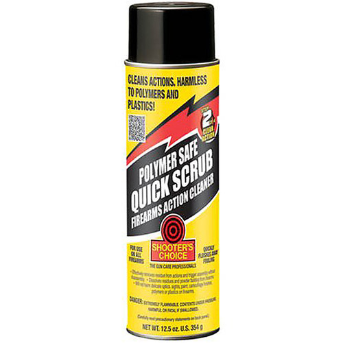 Shooters Choice Polymer Safe Degreaser 12 Ounce Aerosol, PSQ12