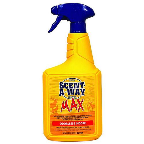 Hunters Specialties Scent-A-Way Max Odorless Odor Control Spray 32 Oz 07741