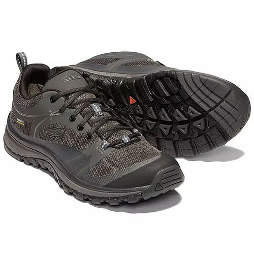 Keen Women's Terradora Waterproof Hiking Shoe Raven/Gargoyle