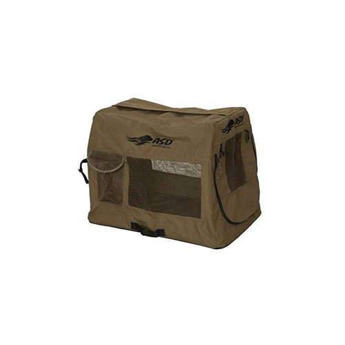 AVERY 03838 QUICK SET TRAVEL KENNEL BROWN XL