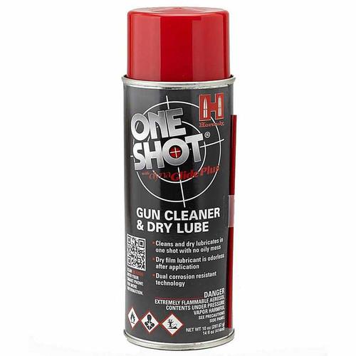 HORNADY 9990 ONE SHOT AEROSOL SPRAY GUN CLEANER & LUBE 5 OZ.
