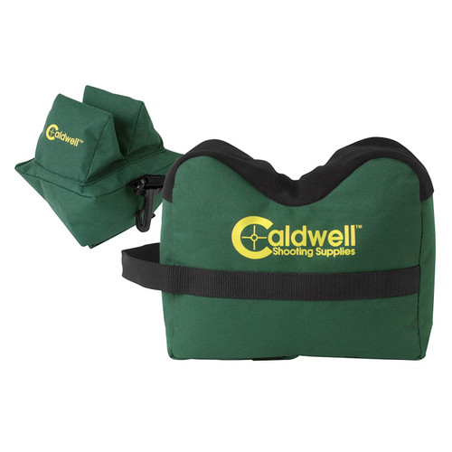 Caldwell DeadShot Front and Rear Shooting Rest Bag Set Nylon Green, 939333