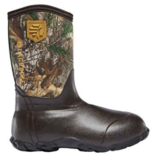 LaCrosse Lil' Alpha Lite Youth Realtree Xtra 1000G Hunting Boot RTX 610247