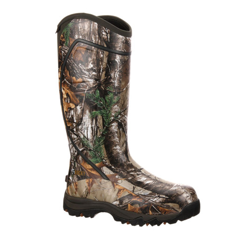 Rocky Core Waterproof 1600G Insulated Rubber Hunting Boots RKYS060