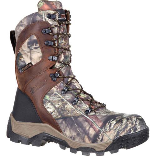 Rocky Men's RKS0309 Mid Calf Boot Mossy Oak Break Up Country Camoflauge