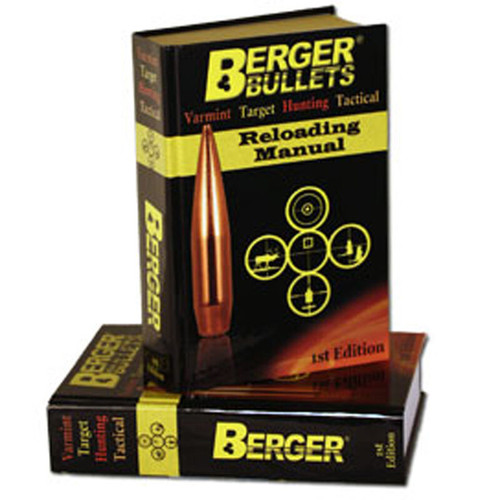 BERGER 11111 1ST EDITION RELOADING MANUAL