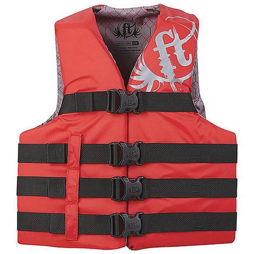 Full Throttle Life Vest L/XL/Red
