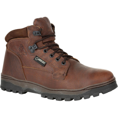 Rocky Men's Outback Waterproof Outdoor Boot Round Toe Brown 11 D