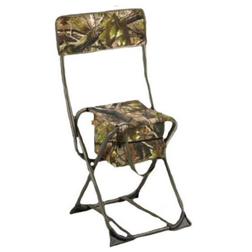 Hunters Specialties 07281 Dove Chair Camo with Back Realtree Xtra Green