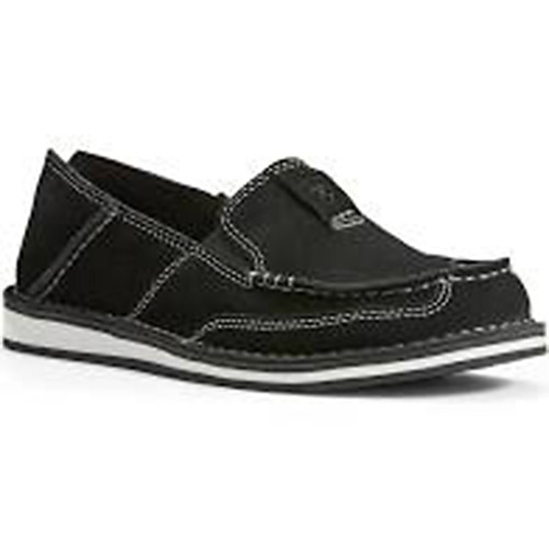 Ariat Women's Women's Cruiser Moccasin Black Suede