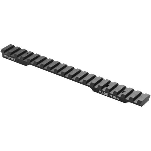 Weaver Tactical Extended MS Base Remington 700 SA Aluminum Matte Blk 99503