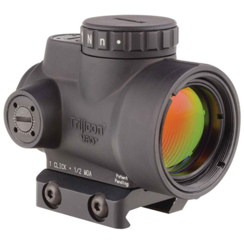 Trijicon 1x25mm 2.0 MOA Adjustable Red Dot MRO-C-2200004