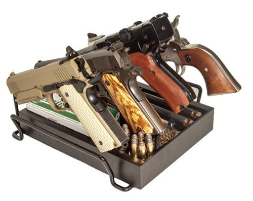 Liberty Safe - 4 Pistol Rack, Anti Scratch, Slide Out Drawer, for Gun Safe, Hand Made in USA