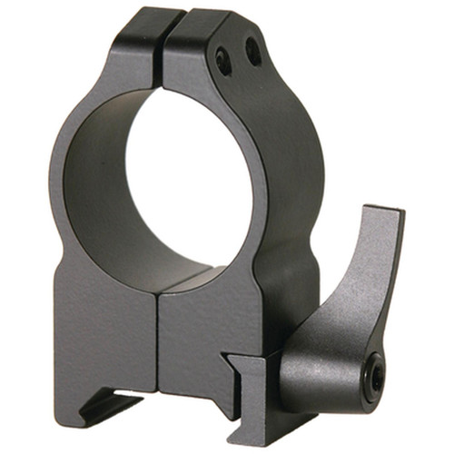 Warne Mounts Maxima One Inch Quick Detach Scope Rings High Matte, 202LM