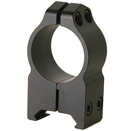 Warne Scope Mounts High Matte Permanent Attach Rings (1-Inch)