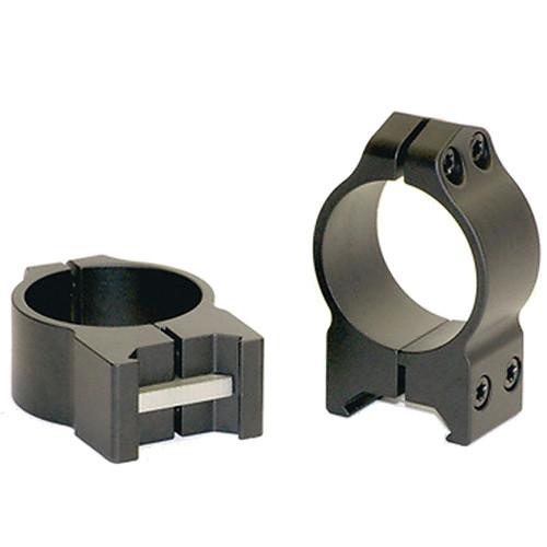 Warne Scope Rings Medium Matte Permanent Attach Rings (30mm)