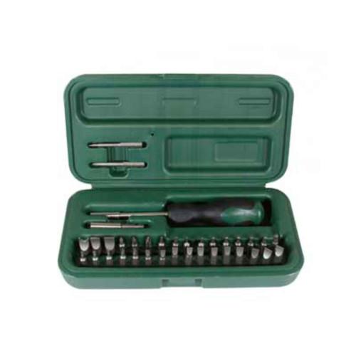 Weaver 36-Piece Compact Gunsmithing Screwdriver Tool Kit, 849717