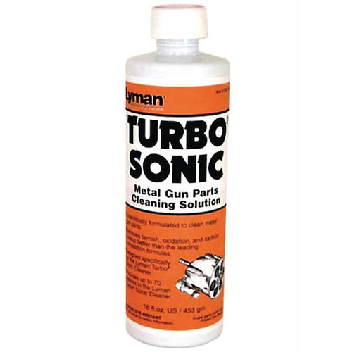 LYMAN 7631707 TURBO SONIC GUN PARTS CLEANING SOLUTION (CONCENTRATE) 16OZ.