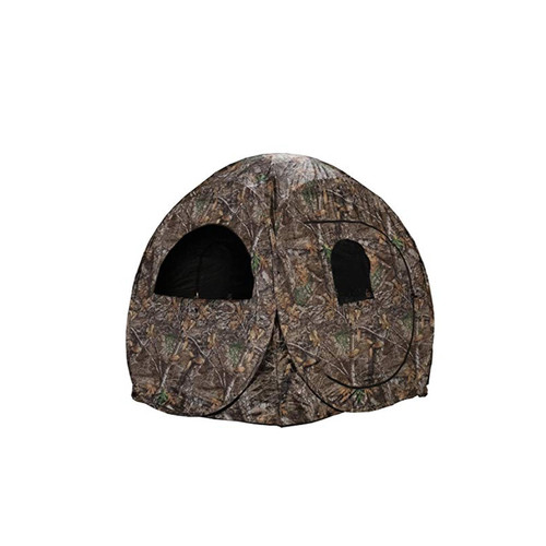 Rhino Blinds R75-RTE Realtree Edge Camo Polyester 75 Ground Hunting Blind