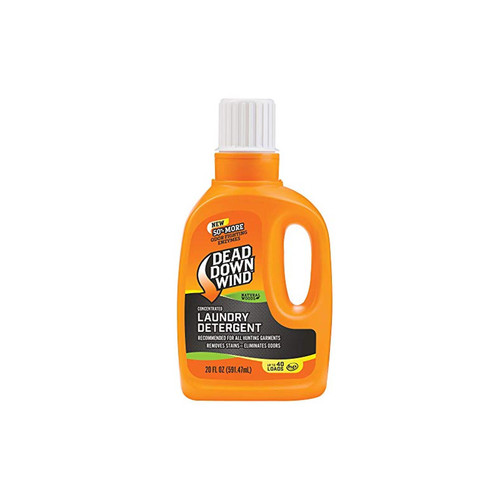 Dead Down Wind Laundry Detergent 20 oz - Odor Elimination for Hunting Gear - Natural Woods