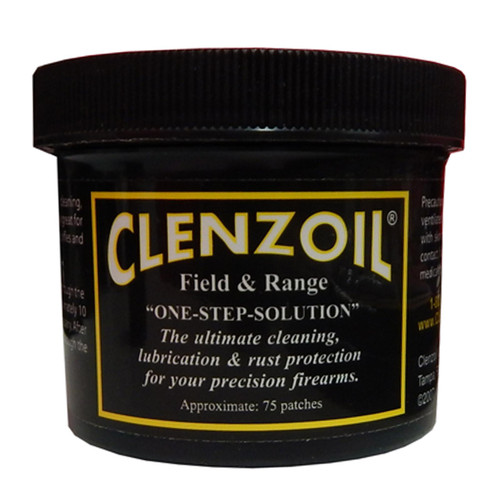 Clenzoil Field and Range One Step Cleaning Solution Patches, CLENKTI