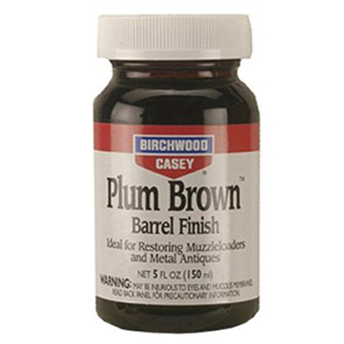 Birchwood Casey Plum Brown Barrel Finish 5 oz Liquid, 14130