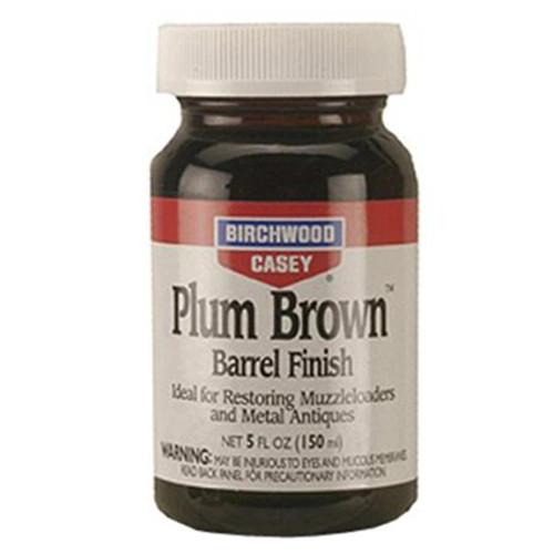 Birchwood Casey Plum Brown Barrel Finish 5 oz Liquid, 14130