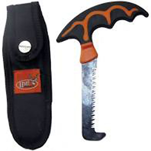 Hunting Made Easy BSWS Bone Saw with Scabbard SS Blade Black Easy Grip