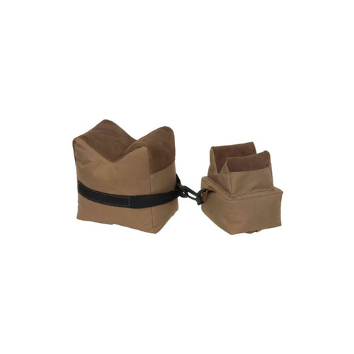 Outdoor Connection Leather Filled Bench Bag (2-Piece Set), Tan