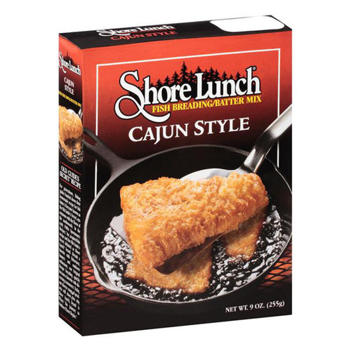 Shore Lunch Fish Breading/Batter Mix Cajun Style