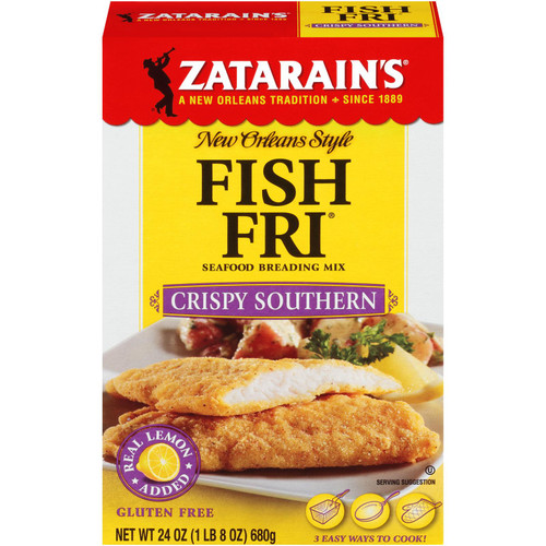 Zatarain's Seasoned Fish Fry, Crispy Southern Style