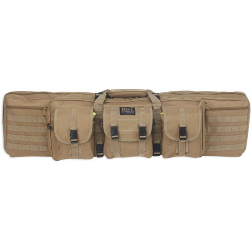 Bulldog Elite Rifle Case 52 Black/Tan BDT40-37T