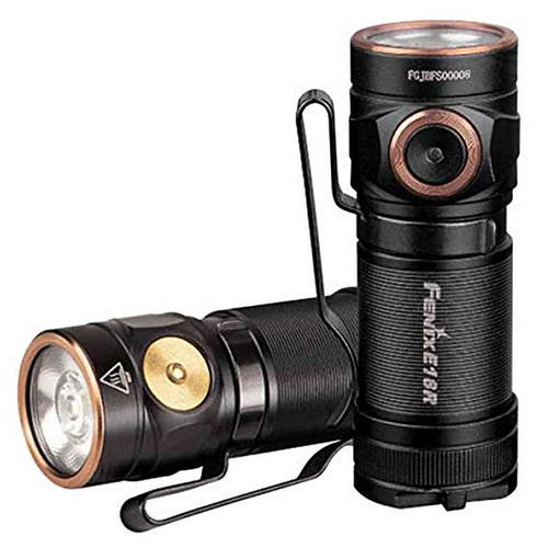 Fenix E Series LED Flashlight, Model 18, 750 Lumens, Rechargeable