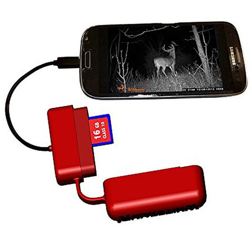 WHITETAIL'R 4009 Phone READ'R Deluxe - iPhone, Red