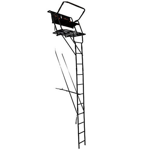 BIG GAME The Spector XT 2-Person Ladder Stand, 17ft, Black