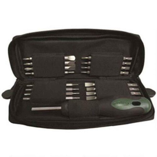 Weaver Soft Sided Gunsmith Quality Screwdriver Tool Kit Compact, 849716