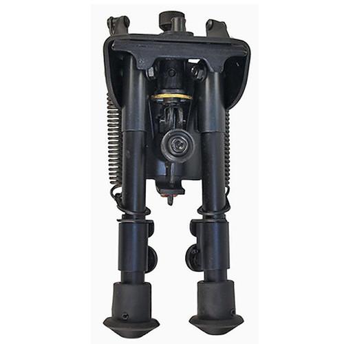 "Harris Ultra-light Bipod Swivel/Sling Swivel Stud Mount 9"" to 13"" Telescoping/Folding Legs Aluminum Matte Black, S-L"