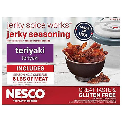 NESCO Jerky Spice Works Teriyaki Jerky Seasoning
