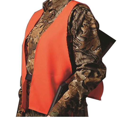 Hunter's Specialties Safety Vest Polyester Blaze Orange One Size, 2000