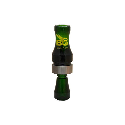 Buck Gardner Double Nasty Camo Green Duck Call