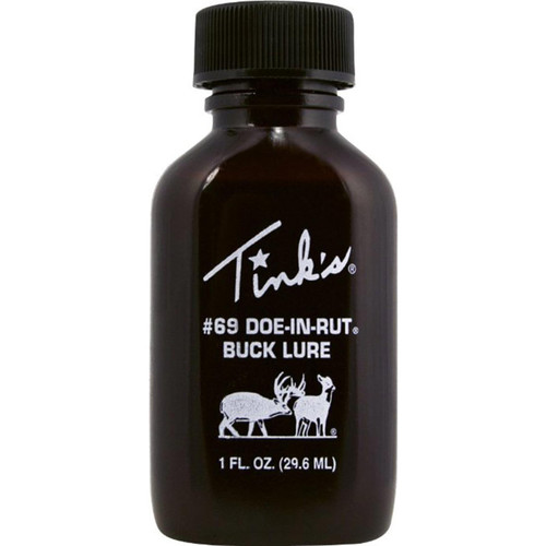 Tink's #69 Doe-in-Rut Buck Lure Deer Scent 1 Ounce, W6366