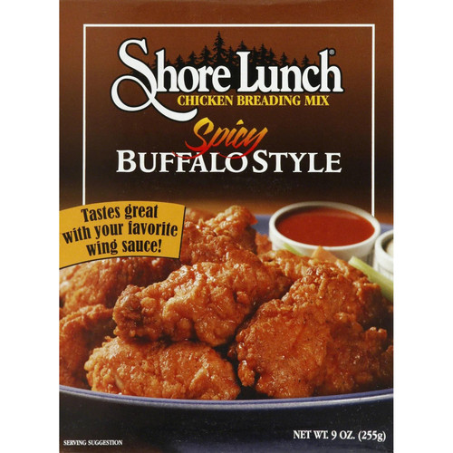 Shore Lunch Chicken Breading Mix Spicy Buffalo Style