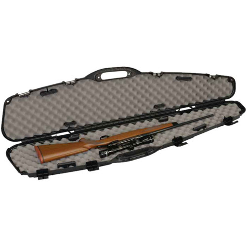 "Plano Pro-Max Pillarlock Single Scoped Rifle Case 53.5"" Airline Approved"