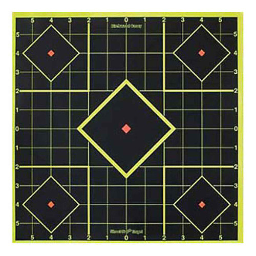 Birchwood Casey Shoot-N-C Self-Adhesive 8in Sight-In Targets Pack of 5 34105